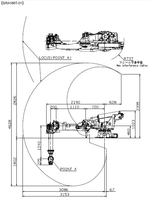 Sra166t Nachi Robotics Systems Inc